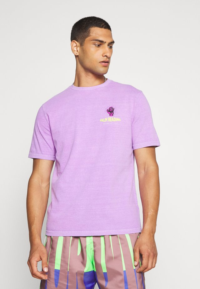 UNISEX  SET IN TEE - Print T-shirt - juicy grape