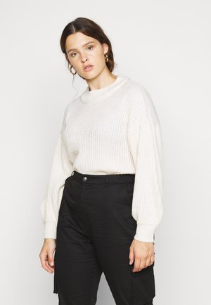 VMTUFURN  BALLOON NECK  - Jumper - birch