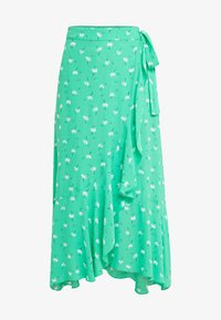 2nd Day - LIMELIGHT ANEMONE - Maxi skirt - irish green - 3