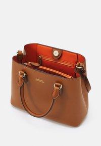 Lauren Ralph Lauren - SUPER SMOOTH MARCY - Handbag - tan/monarch orange - 3
