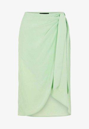 Wrap skirt - silt green