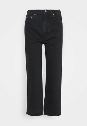 PANTS - Jeans Straight Leg - washed black