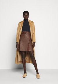 WEEKEND MaxMara - VENEZIA - A-line skirt - bronze - 1