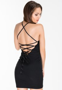 Zoe Leggings - SAVAGE - Shift dress - black - 4