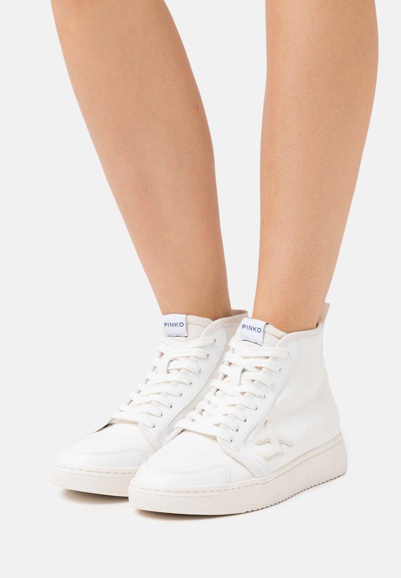 Pinko - LIQUIRIZIA  - Baskets montantes - white