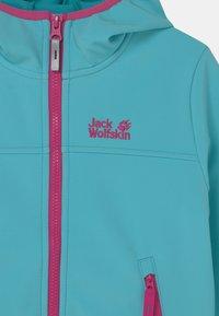 Jack Wolfskin - FOURWINDS UNISEX - Soft shell jacket - atoll blue - 2