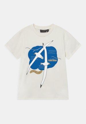 ALBATROSS TEE UNISEX - Print T-shirt - white