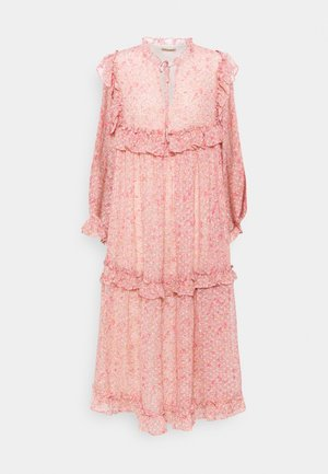 BARBARA - Day dress - pink/orange