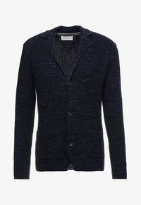 Pier One - Cardigan - mottled dark blue - 3