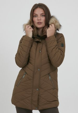 FRBAVEST 2 OUTERWEAR - Winter coat - gold brown