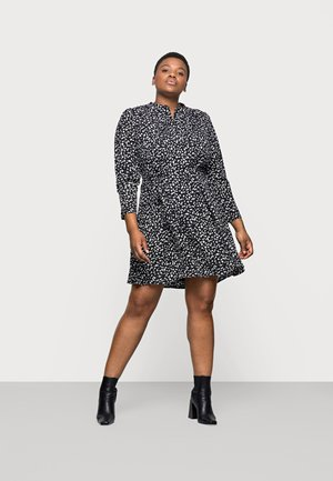 SLFVIA SHORT DRESS - Day dress - black