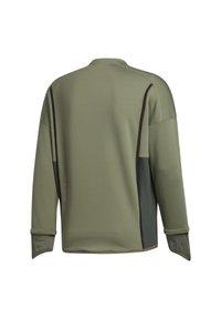 adidas Performance - PRIME COLD.RDY TOP CREW SWEATSHIRT - Sudadera - green - 10
