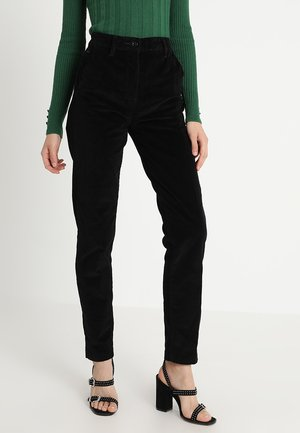 BRONSON HIGH SKINNY CHINO WMN - Džíny Slim Fit - black