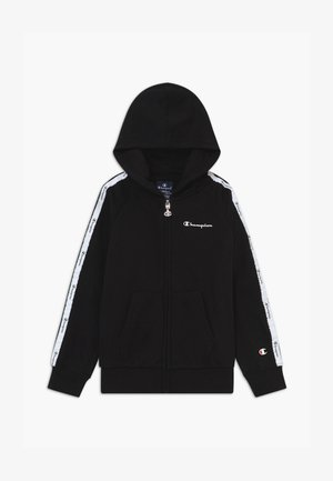 LEGACY AMERICAN TAPE HOODED FULL ZIP - Felpa aperta - black