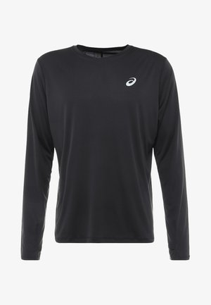 Langærmede T-shirts - performance black