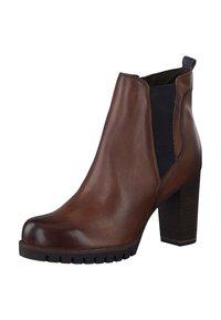 Marco Tozzi - Ankle boots - cognac - 3