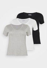 black /white/light grey