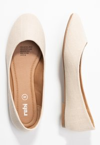 Rubi Shoes by Cotton On - BRITT BALLET - Ballerina - oat - 3