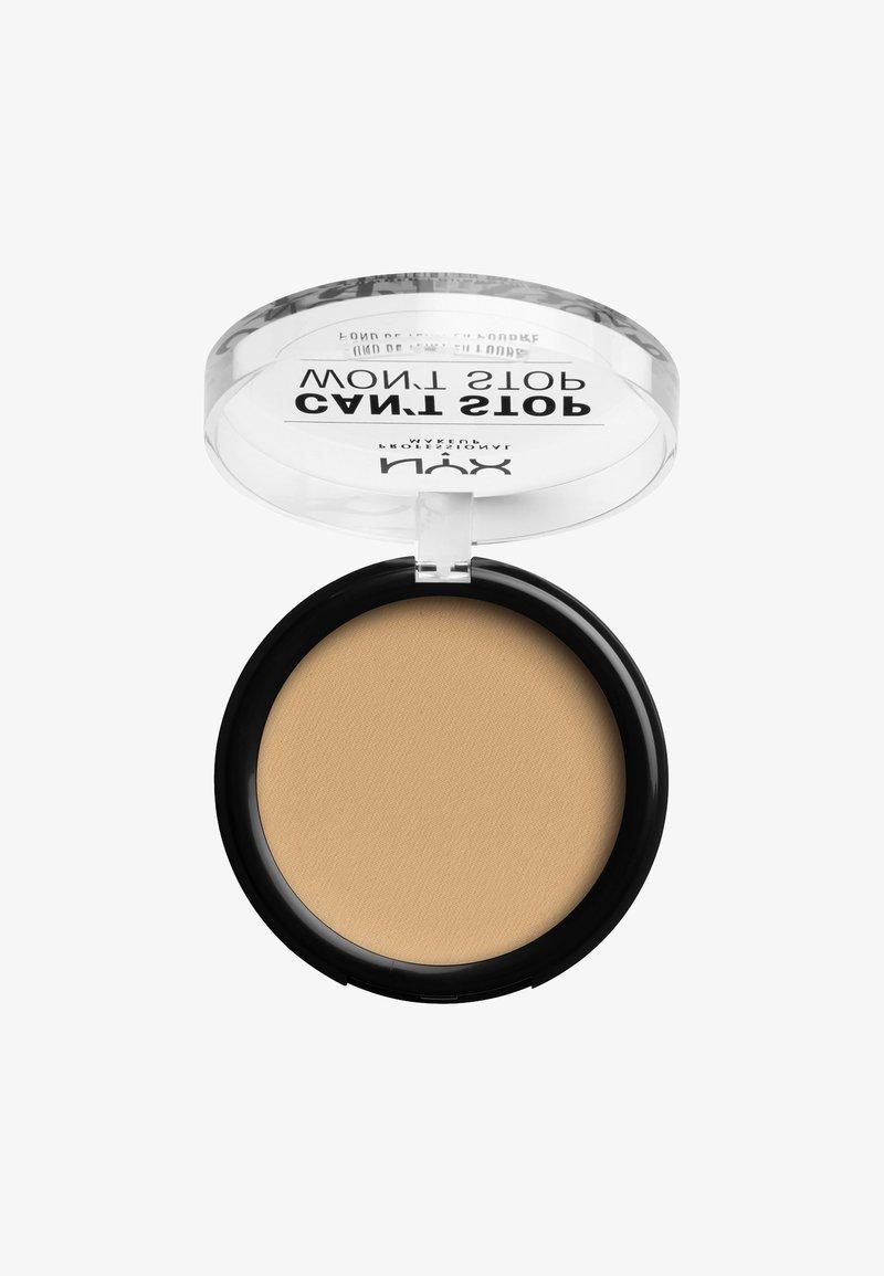 Nyx Professional Makeup - CAN'T STOP WON'T STOP POWDER FOUNDATION - Poudre - CSWSPF08 true beige