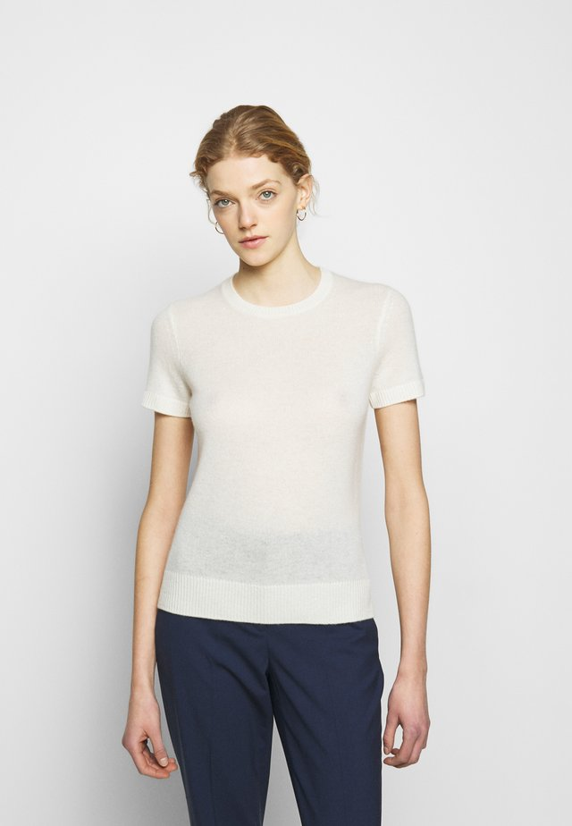 BASIC TEE FEATHER - T-shirts - ivory