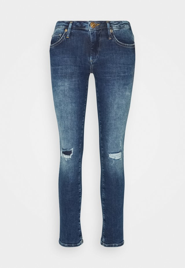 NEW HALLE REGULAR WAIST - Jeans Skinny Fit - blue
