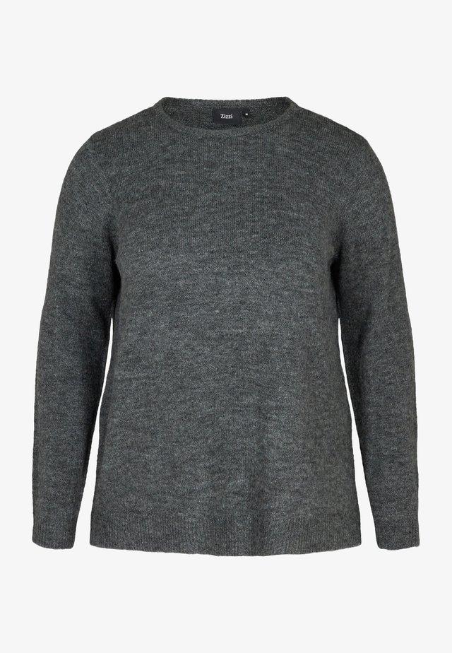Jumper - dark grey