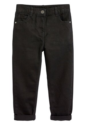 BLACK MOM JEANS (3-16YRS) - Džíny Straight Fit - black
