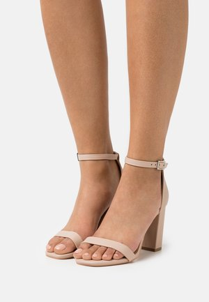 SAN SQUARE TOE - Sandals - pale taupe