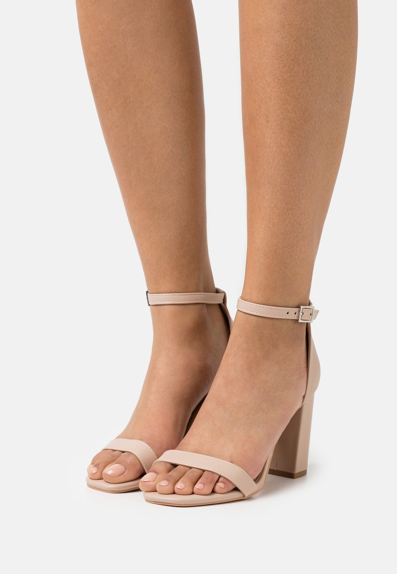 Rubi Shoes by Cotton On - SAN SQUARE TOE - Sandals - pale taupe