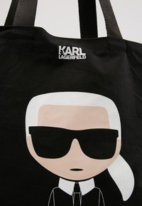 KARL LAGERFELD - IKONIK - Bolso shopping - black - 6