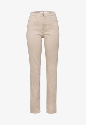 STYLE CAROLA - Slim fit jeans - sand