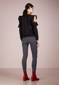 7 for all mankind - CROP - Jeans Skinny Fit - bair smoke grey - 2
