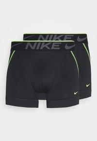 Nike Underwear - TRUNK BREATHE MICRO 2 PACK - Pants - black - 2
