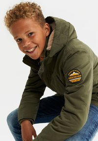 WE Fashion - Parka - army green - 1