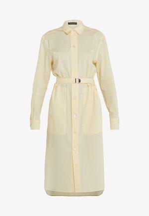 DRESS - Shirt dress - vanilla