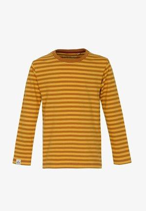 Langærmede T-shirts - rust