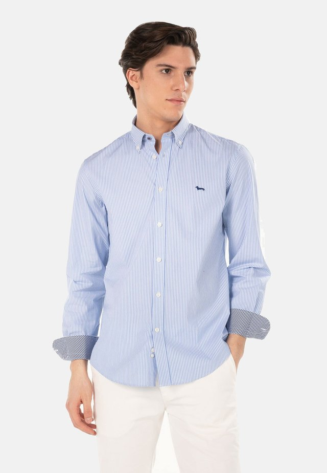 Camicia elegante - celeste screziato