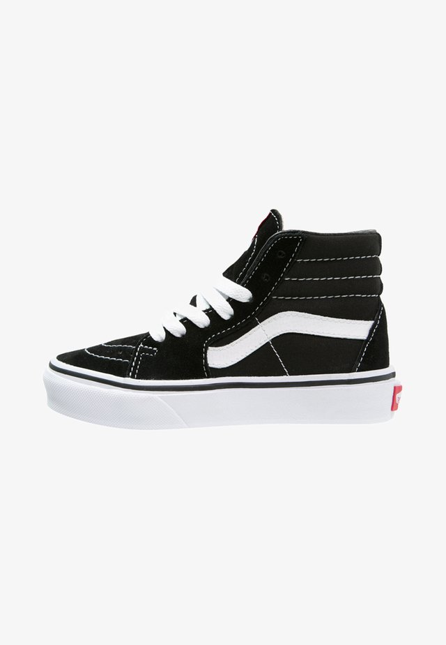 SK8 - Korkeavartiset tennarit - black/true white
