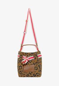 Codello - MIT LEO-PRINT - Handbag - braun - 1