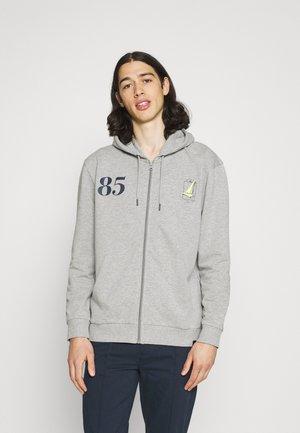 RACER ZIP HOODIE - Sweater met rits - grey marl