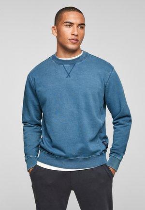 ANIMÉ DE COUTURES CONTRASTANTES - Sweatshirt - light blue