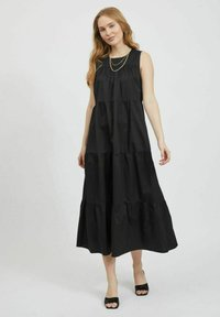 Vila - Maxi dress - black - 0