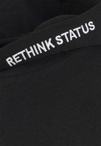 RETHINK Status - UNISEXHOODY - Mikina - black - 2