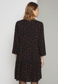 TOM TAILOR DENIM - Day dress - black rust flower print - 2