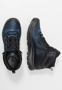 Salomon - VAYA MID GTX - Outdoorschoenen - black/sargasso sea/black - 1
