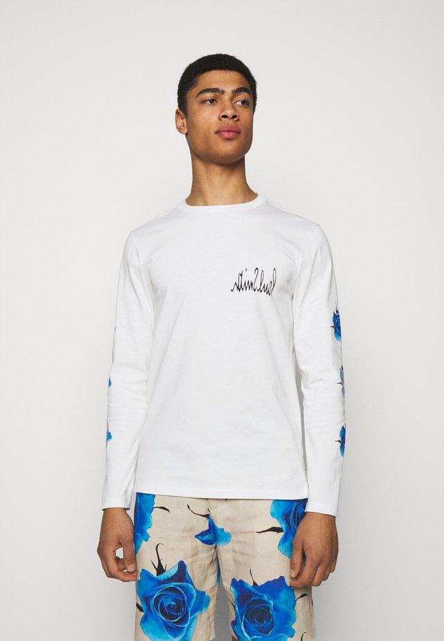 GENTS  - T-shirt à manches longues - white