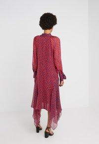 Strenesse - DRESS DIAMONDE - Maxi dress - navy/red - 2
