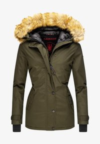 Navahoo - LAURA - Winter jacket - forest green - 0