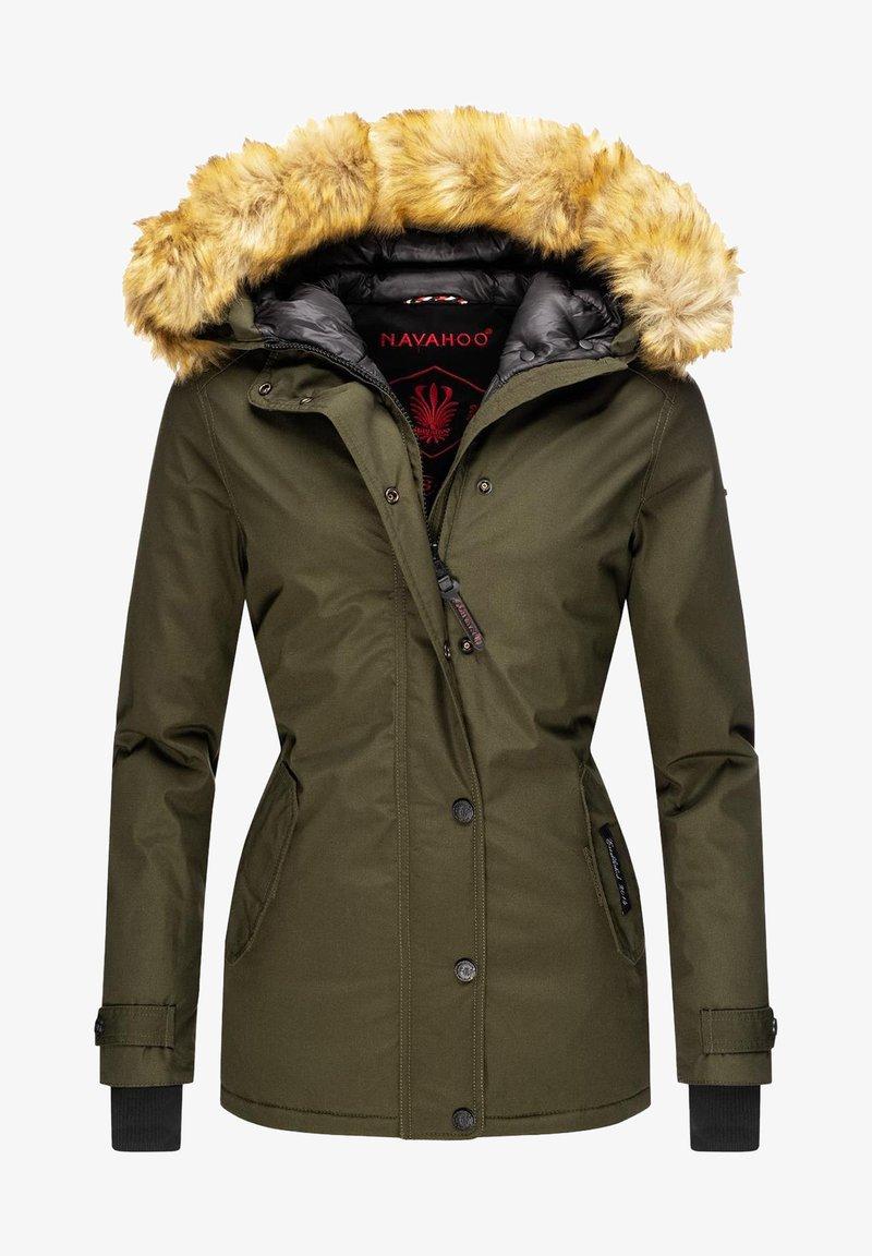 Navahoo - LAURA - Winter jacket - forest green