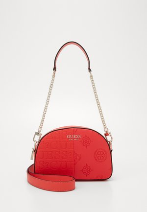 KAYLYN MINI CROSSBODY TOP ZIP - Handbag - red